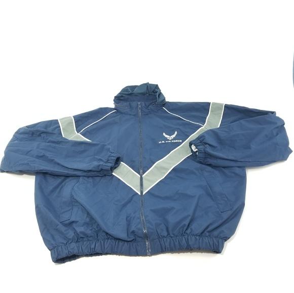 U S Air Force basic training Windbreaker jacket XL